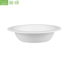 Biodegradable Paper Pulp Noodle Food Bowls For Food grade&Safty Packaging