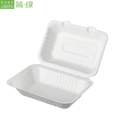 Clamshell Lunch Box For Fast Food Packaging