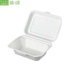 Biodegradable Sugarcane Bagasse Food Container From China