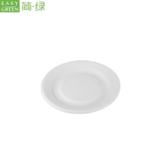 Disposable Biodegradable Party Plates Sugarcane For Cake/Bread