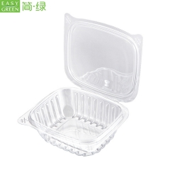 Fruit Packaging Pla Plastic Box For Vegetable And Fruit