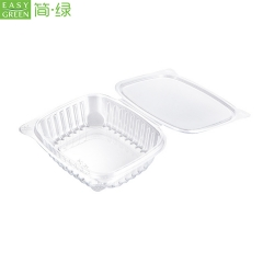 PET Plastic Dry Plastic Salad Disposable Box Fruit