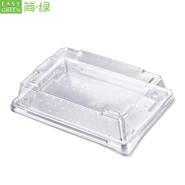 Plastic Disposable Sushi Tray Container