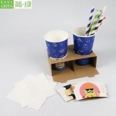 PCC-08 8oz Corrugated Food Packaging Corrugated Coffee Paper Cup