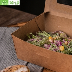 PKW Takraway Packaging Kraft Paper Lunch Box