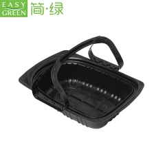 Easy Green disposable PP takeaway plastic roasted chicken box